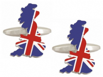 Dalaco 90-1435 Great Britain Union Jack Cufflinks